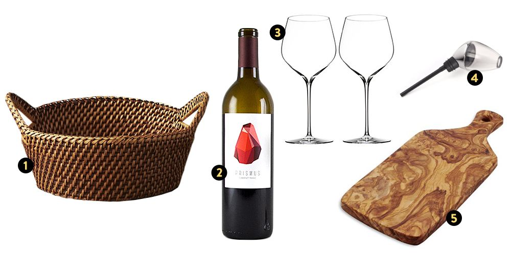 easter basket gift ideas wine