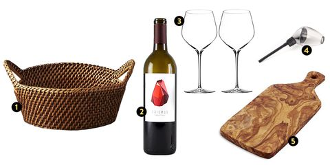easter basket gift ideas wine