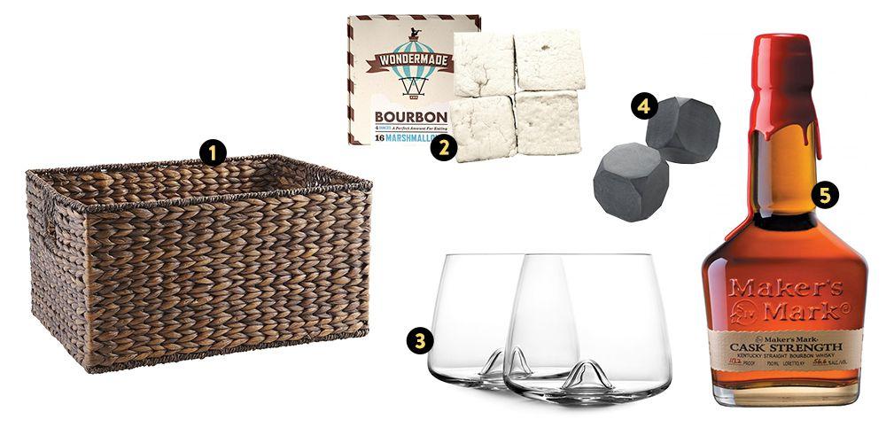 whiskey lover easter basket