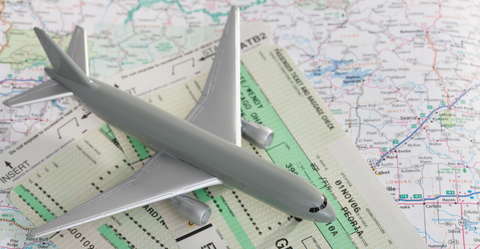 Airplane, Aircraft, Airliner, Airline, Line, Aerospace engineering, Air travel, Aviation, Toy vehicle, Scale model,