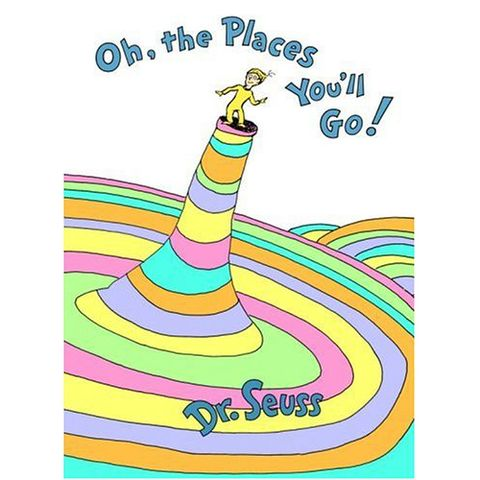 dr. seuss oh the places you'll go book