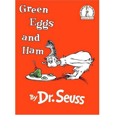 dr seuss green eggs and ham book