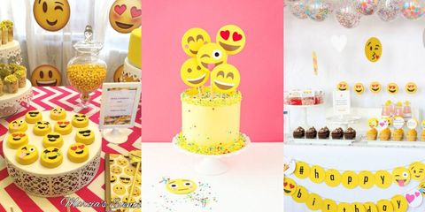 Emoji Themed Kids Birthday Parties Are A Thing And Theyre Super Cute