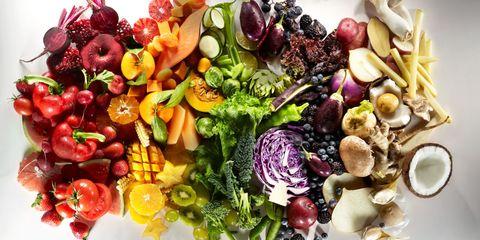 Food, Vegan nutrition, Natural foods, Food group, Produce, Whole food, Leaf vegetable, Still life photography, Fruit, Seedless fruit,