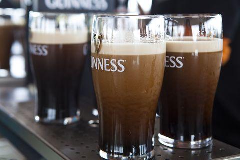 Beer, Barware, Drink, Alcoholic beverage, Beer glass, Glass, Alcohol, Drinkware, Liquid, Tableware,