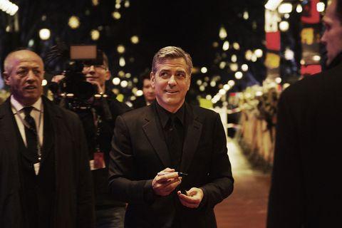 Coat, Suit, Outerwear, Formal wear, Dress shirt, Blazer, Tie, Suit trousers, Holiday, Tuxedo,