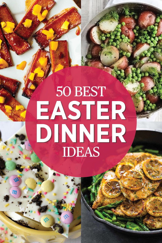 easter dinner ideas - easter dinner menu