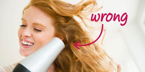 Lip, Hairstyle, Eyebrow, Tooth, Eyelash, Beauty, Brown hair, Long hair, Blond, Hair coloring,