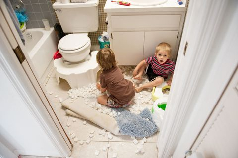 Product, Room, Floor, Child, Toilet seat, Toilet, Flooring, Home, Baby & toddler clothing, Toddler,