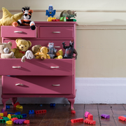 Room, Toy, Pink, Drawer, Magenta, Baby toys, Purple, Cabinetry, Chest of drawers, Plastic,