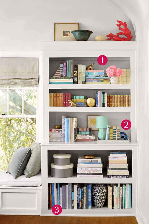 Bookshelf Organizing