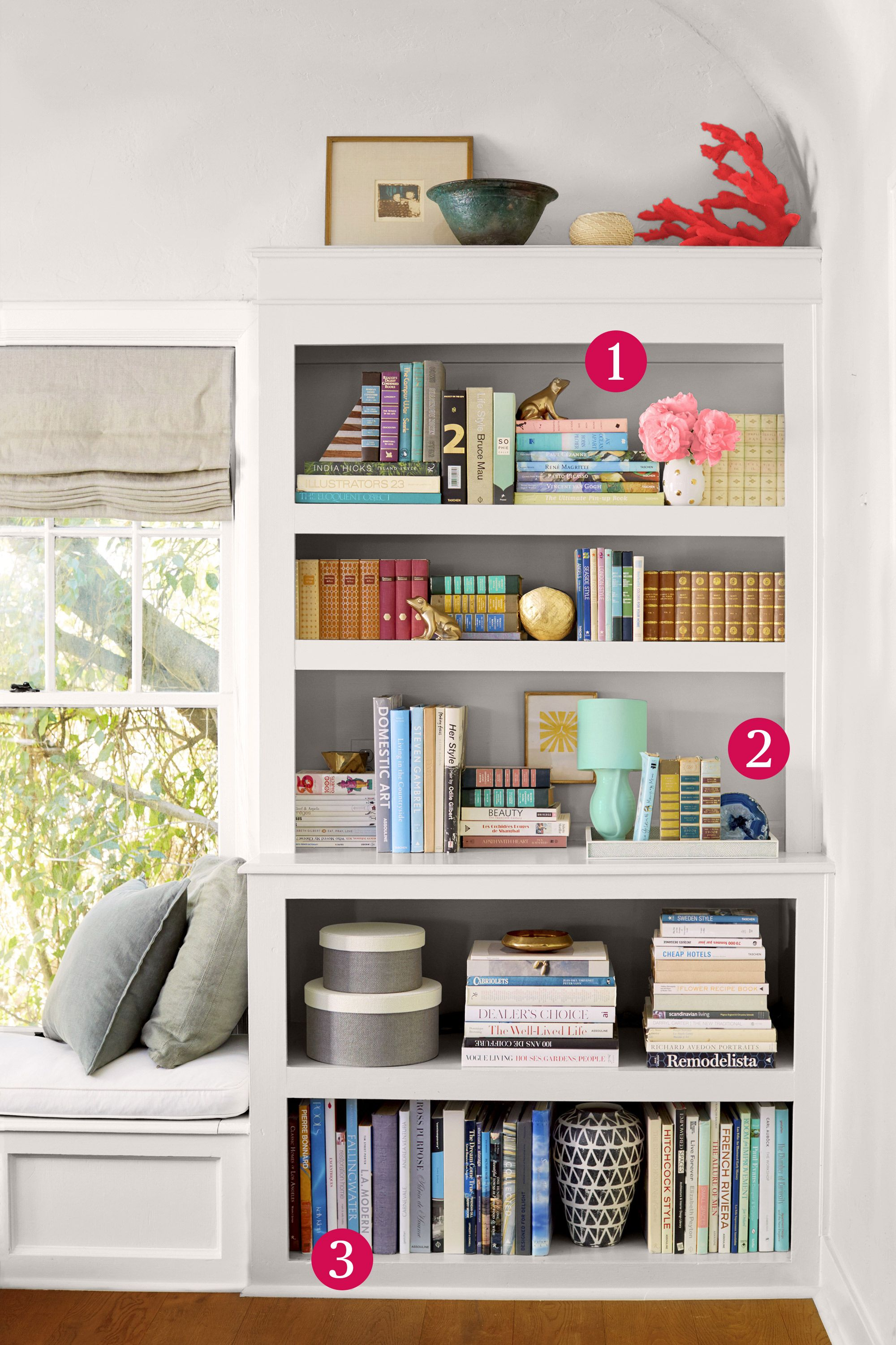 Wonderful Bookshelf Organizing Design Inspirations