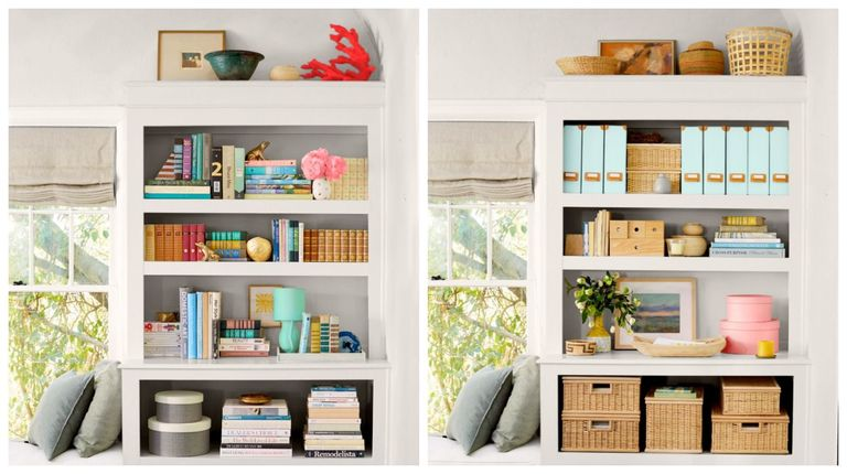 6 organization ideas for your bookshelves organizing - Cute ways to organize your bedroom ...
