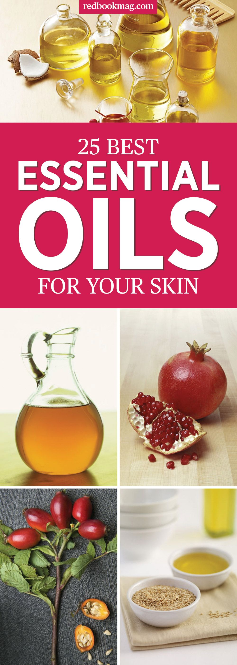 20 Best Essential Oils for Skin   Top Skincare Oils for Face and Body