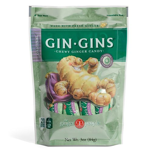 Ginger People Original Gin Gins Chewy Ginger Candy