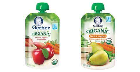 Gerber baby food recall