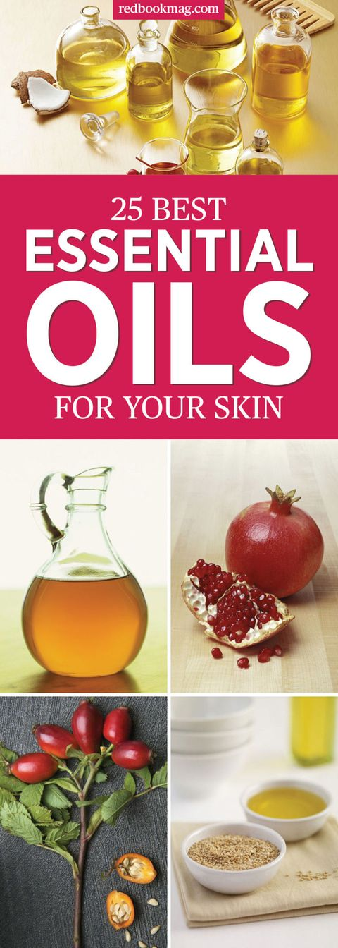 25 Best Essential Oils for Skin - Top Skincare Oils for Face and Body
