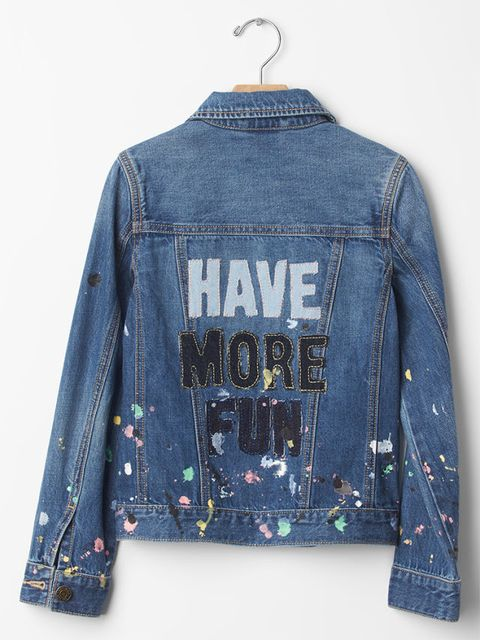 gap kids x ellen degeneres spring 2016 denim jacket