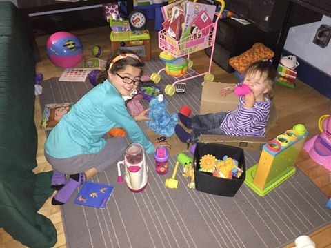 Baby toys, Play, Shelf, Toy, Box, Shelving, Living room, Plastic,