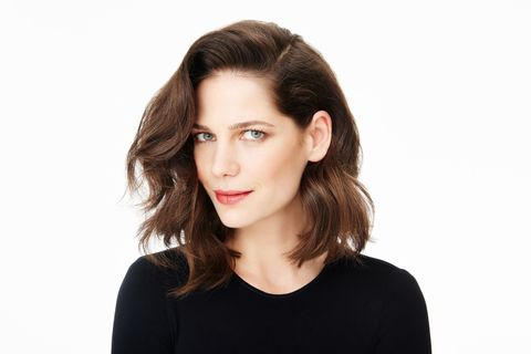 "<p>""Moving a large section of hair over to one side gives the illusion of fullness,"" explains Francis. To get volume and loose waves, wrap sections around the outside of a closed flat iron starting from midway on strands and working down. Then place one side behind your ear for a casually chic effect. The positioning of the part is crucial: ""Use the arch of your brow as a guide of where you want to flip your hair over,"" says David Lopez, a celebrity stylist in New York City.</p>"