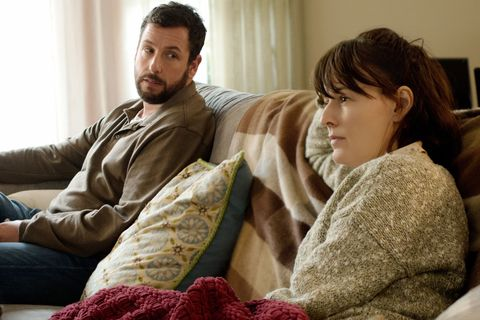 MEN, WOMEN & CHILDREN, from left: Adam Sandler, Rosemarie DeWitt, 2014. ph: Dale Robinette/©Paramount Pictures/courtesy Everett Collection