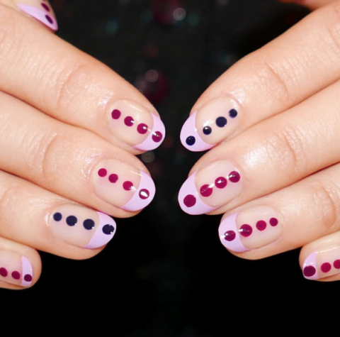 nail polish designs easy