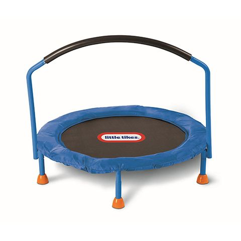 little tikes 3 foot trampoline with handle