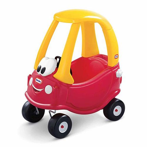 little tikes cozy coupe 30th anniversary car red and yellow