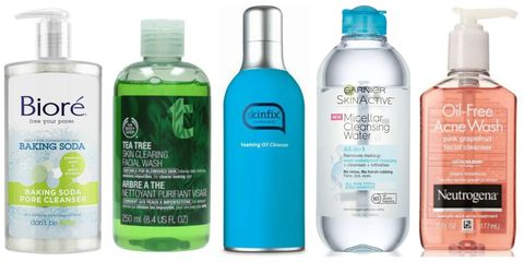 Face wash and cleanser