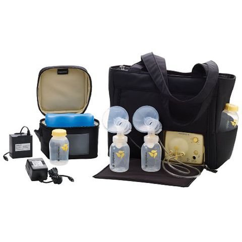 medela pump in style advanced breast pump with on-the-go black tote