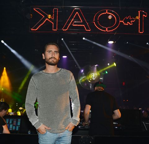 Jeans, Denim, Logo, Beard, Facial hair, Visual effect lighting, Neon, Active shirt,