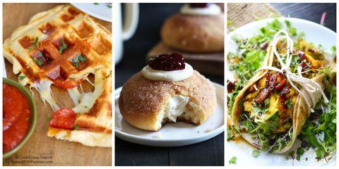 Dish, Food, Cuisine, Ingredient, Brunch, Comfort food, Bun, Produce, Finger food, Baked goods,