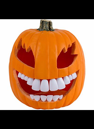 Party City Pumpkin Buck Teeth