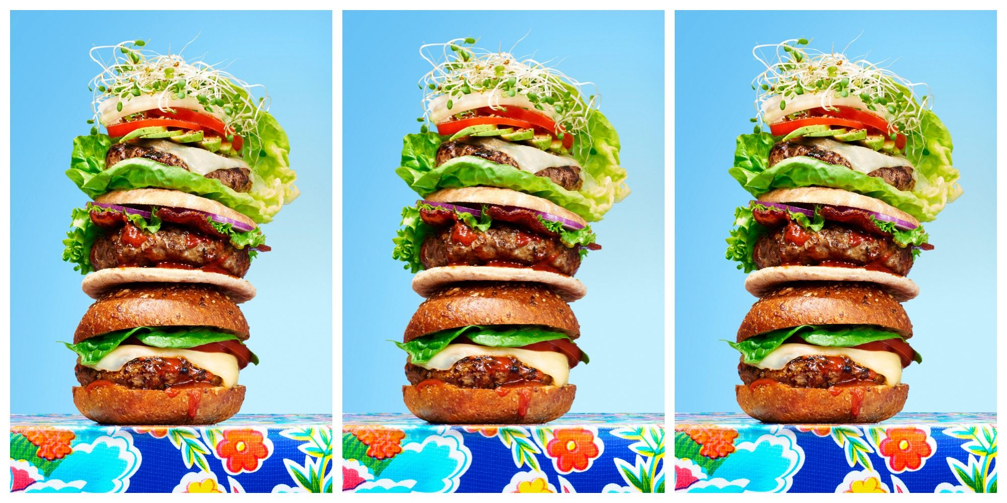 Low Calorie Burger Recipes Healthy Burger Recipes From Hungry Girl