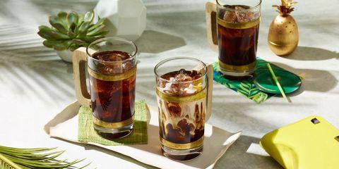 Drink, Alcoholic beverage, Serveware, Tableware, Distilled beverage, Alcohol, Liqueur, Ingredient, Drinkware, Highball glass,