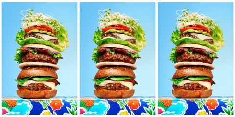 Healthy burgers from Hungry Girl