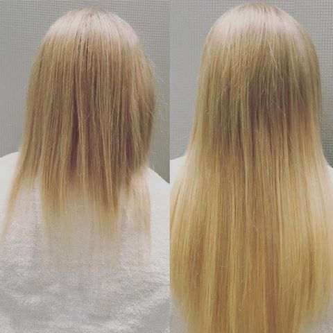 Hair extensions truly changed my life courtesy of aly walansky pmusecretfo Image collections