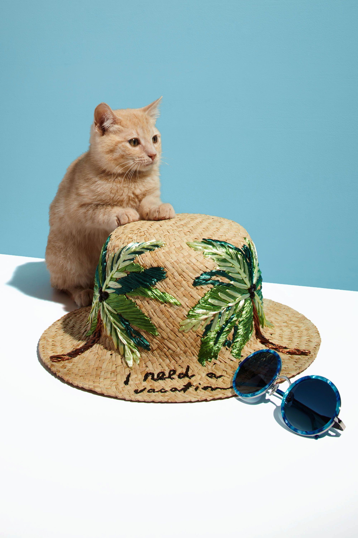 """<p><em><em>From left: Kate Spade I Need a Vacation Cloche Hat, $128, <a href=""""https://www.katespade.com/products/i-need-a-vacation-cloche-hat/KS1000503.html?cgid=ks-accessories-scarves&dwvar_KS1000503_color=102#start=15&cgid=ks-accessories-scarves"""" target=""""_blank"""">katespade.com</a>; Wildfox Ryder Sunglasses in Monterey, $199, <a href=""""http://www.wildfox.com/ryder-sunglasses"""" target=""""_blank"""">wildfox.com</a> </em></em></p>"""