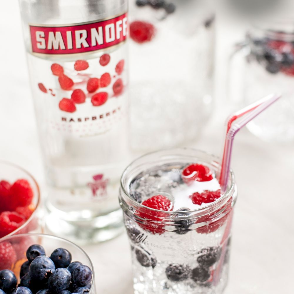 <p>Three ingredients, serves eight—what more could you want? 'Merica!</p><p><strong>Ingredients:</strong></p><p>1.5 cups Smirnoff® Raspberry</p><p>3 cups Lemon-Lime Soda</p><p>Red, White, and Blue Fruit (for garnish)</p><p><strong>Ingredients:</strong></p><p>Mix together and enjoy.</p>