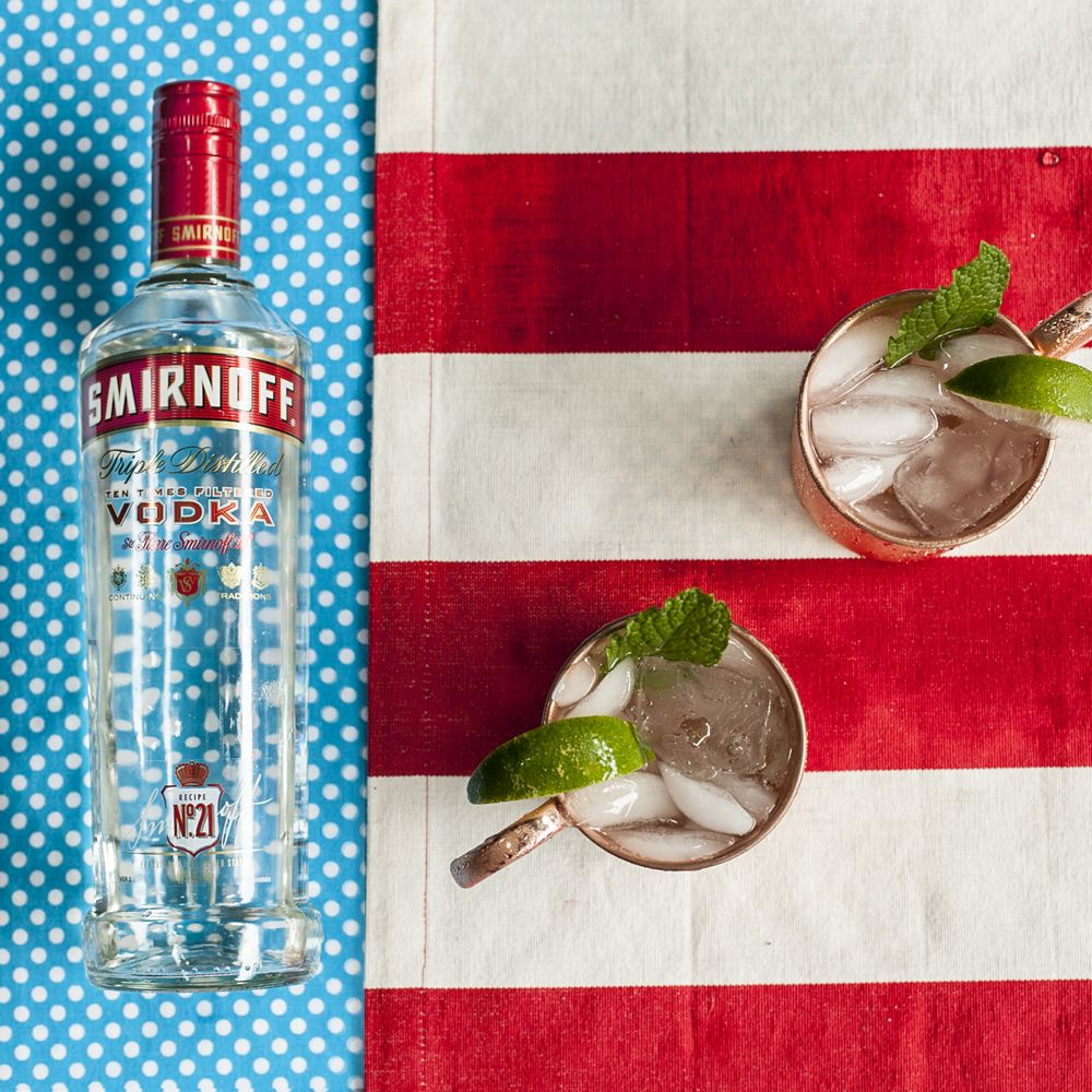 <p>The easiest drink for a crowd? You found it. This one serves eight.</p><p><strong>Ingredients:</strong></p><p>1.5 cups Smirnoff® Vodka</p><p>3 cups Ginger Beer</p><p>Fresh Lime</p><p><strong>Directions:</strong></p><p>Mix together. Garnish with lime wedges and mint, if desired.</p>