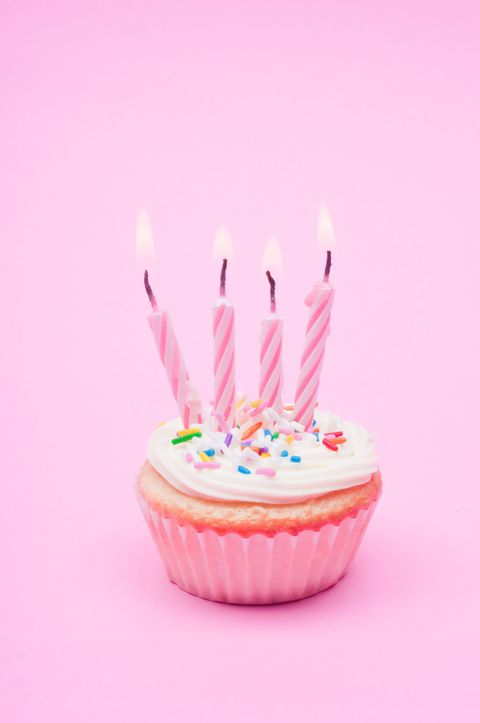 Birthday candle, Sweetness, Food, Ingredient, Dessert, Cuisine, Baked goods, Cake, Pink, Cake decorating supply,