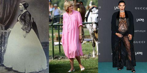 Human, Dress, Fashion, Street fashion, One-piece garment, Day dress, Fur, Vintage clothing, Fashion design, Pattern,