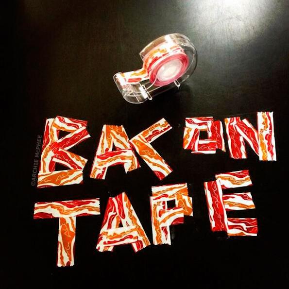 Archie McPhee Bacon Tape