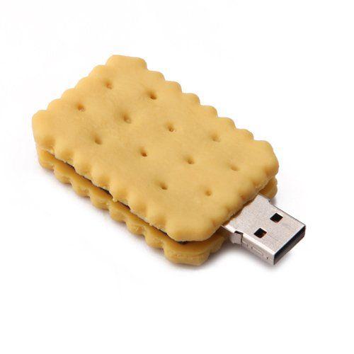 Sandwich Cracker 8GB USB Flash Drive