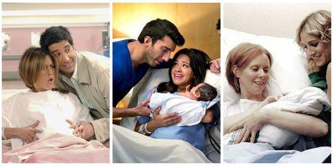 Childbirth on TV