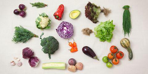 Purple, Natural foods, Lavender, Violet, Food group, Produce, Natural material, Whole food, Vegetable, Vegan nutrition,