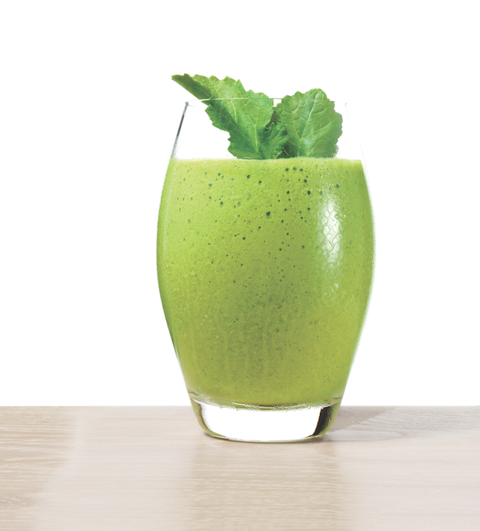 Healthy Lemon Kale Smoothie Recipe