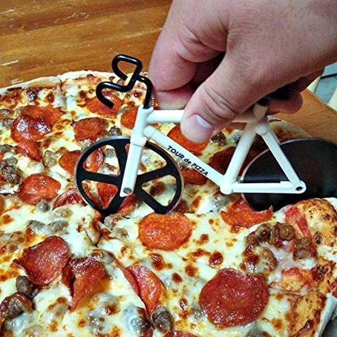 Tour de Pizza Bicycle Pizza Cutter
