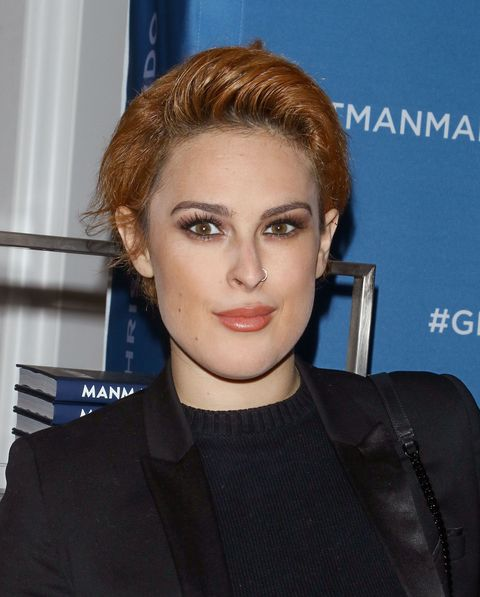 rumer willis red hair