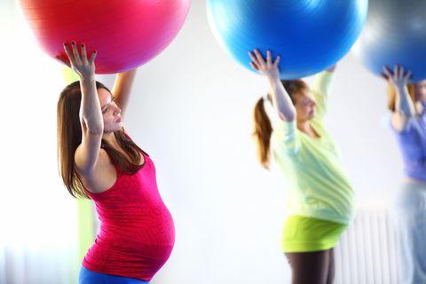 pregnant women pilates